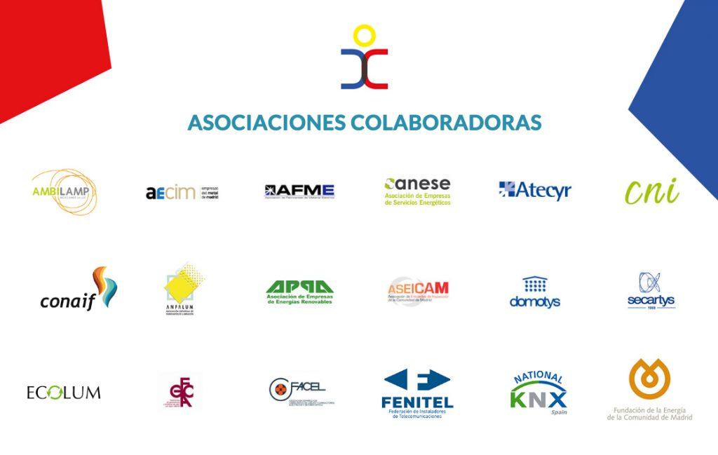 Asociaciones colaboradoras EFICAM 2019
