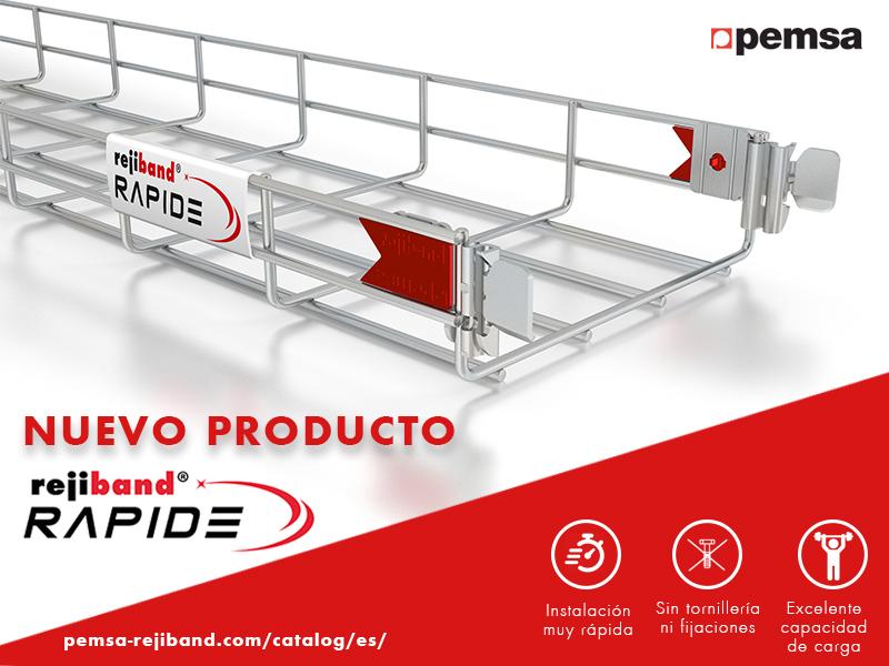 Pemsa lanza Rejiband® Rapide®: La bandeja portacables más rápida del mercado